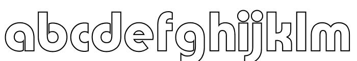 TFBurko Cop Out Font LOWERCASE