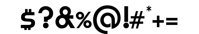 TFBurko Osf Bold Font OTHER CHARS