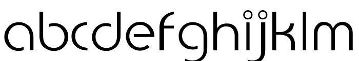 TFBurko Touch Of Burko Font LOWERCASE