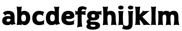 TFDierama Extrabold Font LOWERCASE