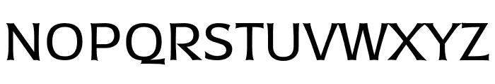 TFDierama Regular Font UPPERCASE