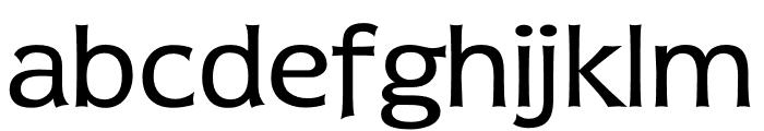 TFDierama Regular Font LOWERCASE