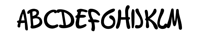 TFGary Medium Font UPPERCASE