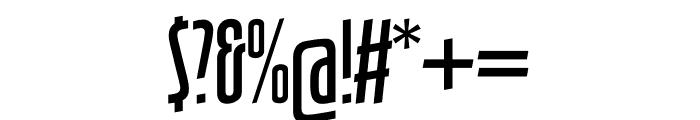 TFHotelmoderne Calligraphic Medium Font OTHER CHARS