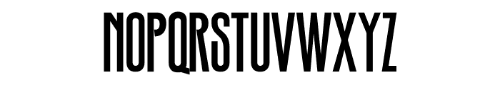 TFHotelmoderne One Medium Font UPPERCASE