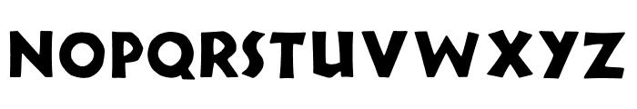 TFNeueNeuland Bold Font UPPERCASE
