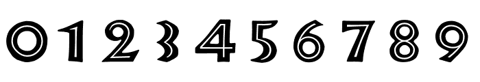 TFNeueNeuland Inline Solid Font OTHER CHARS