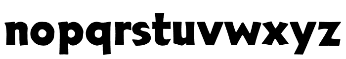 TFNeueNeuland Osf Bold Font LOWERCASE