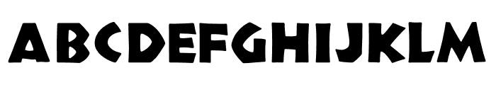 TFNeueNeuland Osf Solid Font UPPERCASE