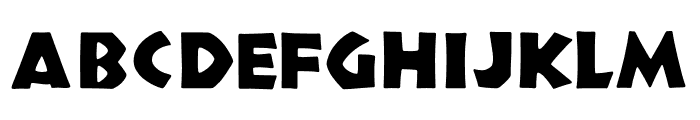 TFNeueNeuland Solid Font UPPERCASE