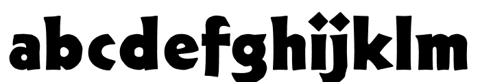 TFNeueNeuland Solid Font LOWERCASE