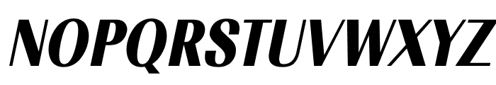 TFRenoir Black Italic Font UPPERCASE