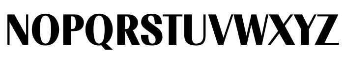 TFRenoir Black Font UPPERCASE