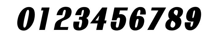 TFRenoir Extra Heavy Italic Font OTHER CHARS