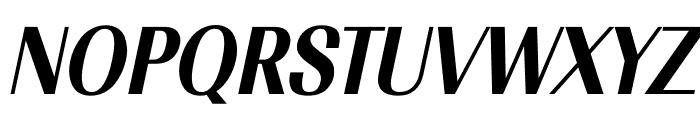 TFRenoir Extrabold Italic Font UPPERCASE