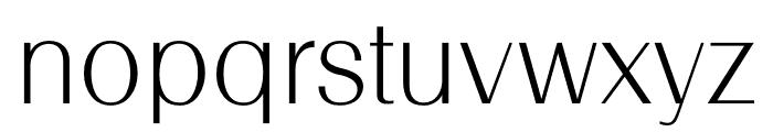 TFRenoir Light Font LOWERCASE