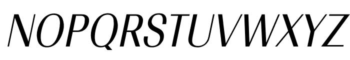TFRenoir Medium Italic Font UPPERCASE