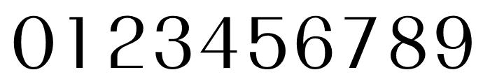 TFRenoir Medium Font OTHER CHARS