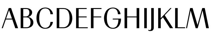TFRenoir Medium Font UPPERCASE