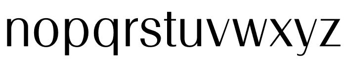 TFRenoir Medium Font LOWERCASE