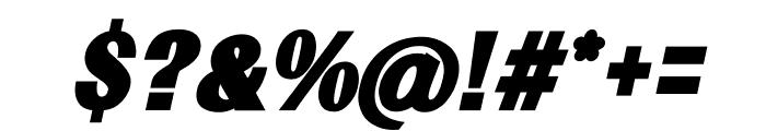 TFRenoir Ultra Italic Font OTHER CHARS