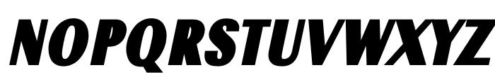 TFRenoir Ultra Italic Font UPPERCASE