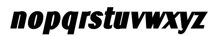 TFRenoir Ultra Italic Font LOWERCASE