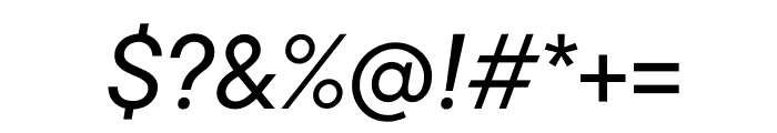 TT Commons Variable Italic Font OTHER CHARS