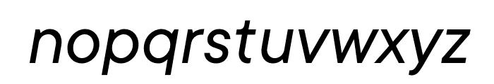 TT Commons Variable Italic Font LOWERCASE