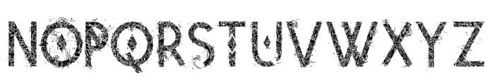 Tetra Decorative Font UPPERCASE