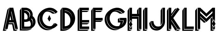 Tetra Decorative Font LOWERCASE