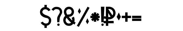 Tetra Regular Font OTHER CHARS