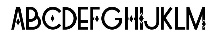 Tetra Regular Font UPPERCASE