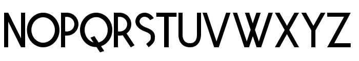 Tetra Regular Font LOWERCASE