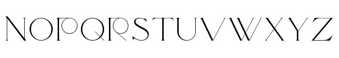 Traviata Regular Font LOWERCASE