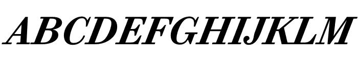 Trianon Caption Bold Italic Font UPPERCASE