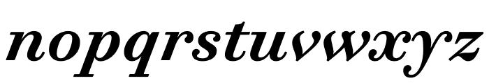 Trianon Caption Bold Italic Font LOWERCASE