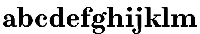 Trianon Caption Bold Font LOWERCASE