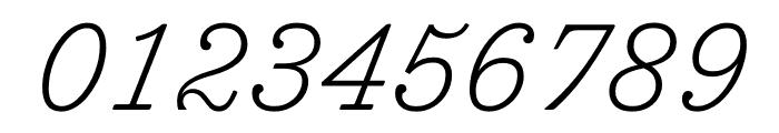 Trianon Caption ExtraLight Italic Font OTHER CHARS