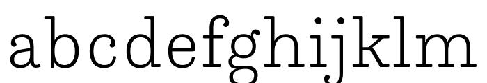 Trianon Caption ExtraLight Font LOWERCASE