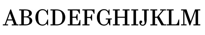 Trianon Caption Regular Font UPPERCASE