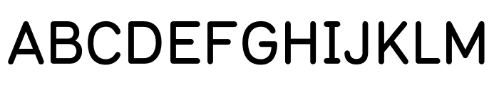 Typ 1451 Medium Font UPPERCASE