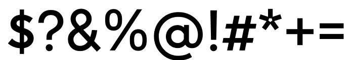 U8 Medium Font OTHER CHARS