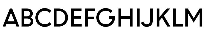 U8 Medium Font UPPERCASE