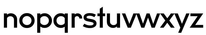 U8 Medium Font LOWERCASE
