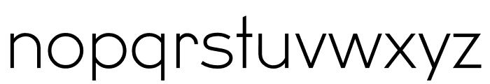 U8 Thin Font LOWERCASE