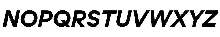 UCity Bold Italic Font UPPERCASE