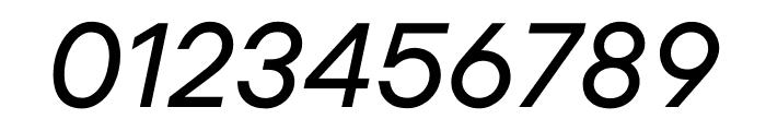 UCity Regular Italic Font OTHER CHARS