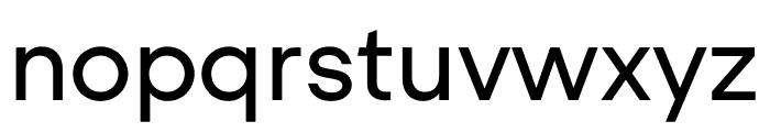 UCity Regular Font LOWERCASE