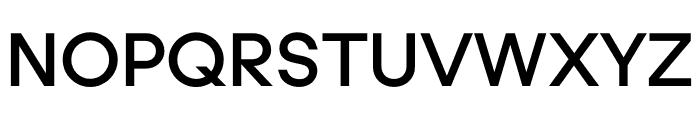UCity Semibold Font UPPERCASE